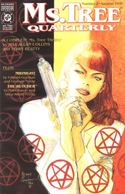 Cover for Ms. Tree Quarterly (DC, 1990 series) #2