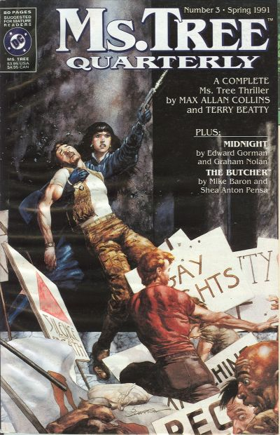 Cover for Ms. Tree Quarterly (DC, 1990 series) #3