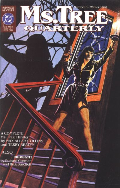 Cover for Ms. Tree Quarterly (DC, 1990 series) #6
