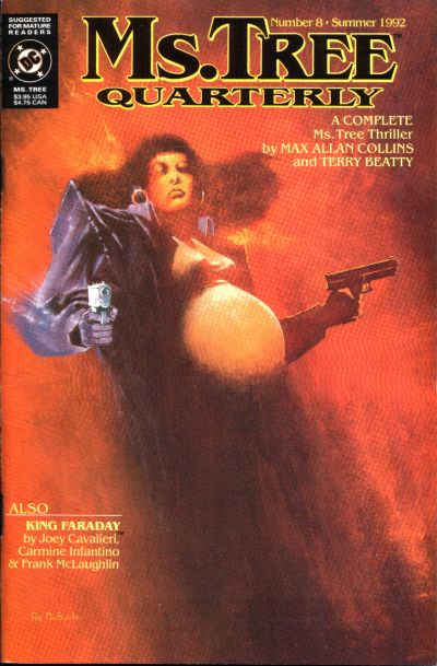 Cover for Ms. Tree Quarterly (DC, 1990 series) #8