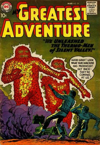 Cover for My Greatest Adventure (DC, 1955 series) #29