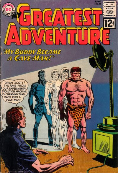 Cover for My Greatest Adventure (DC, 1955 series) #68