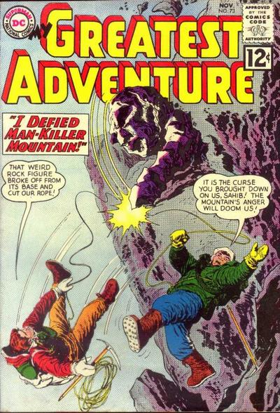 Cover for My Greatest Adventure (DC, 1955 series) #73