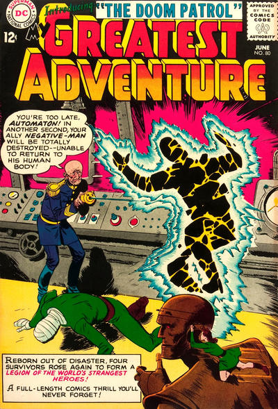 Cover for My Greatest Adventure (DC, 1955 series) #80