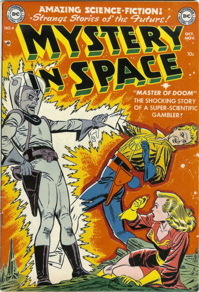 Cover for Mystery in Space (DC, 1951 series) #4