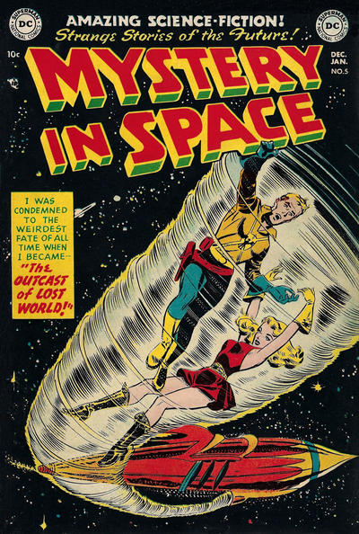Cover for Mystery in Space (DC, 1951 series) #5