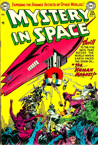 Cover for Mystery in Space (DC, 1951 series) #12