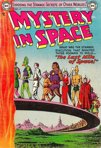 Cover for Mystery in Space (DC, 1951 series) #17