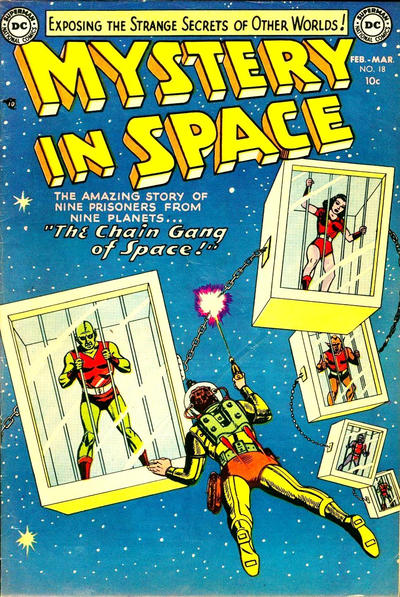 Cover for Mystery in Space (DC, 1951 series) #18