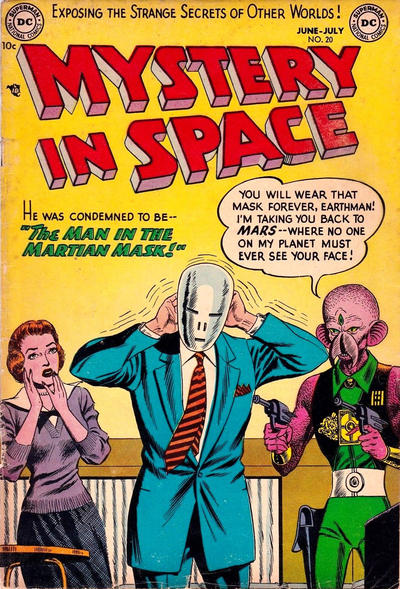 Cover for Mystery in Space (DC, 1951 series) #20