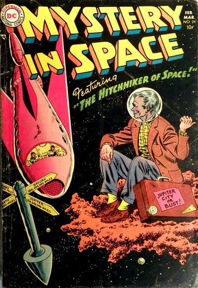 Cover for Mystery in Space (DC, 1951 series) #24