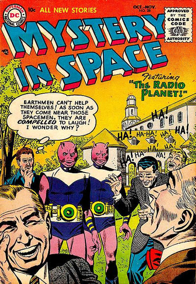 Cover for Mystery in Space (DC, 1951 series) #28