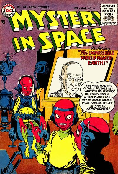 Cover for Mystery in Space (DC, 1951 series) #30