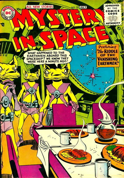 Cover for Mystery in Space (DC, 1951 series) #32