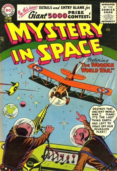 Cover for Mystery in Space (DC, 1951 series) #33