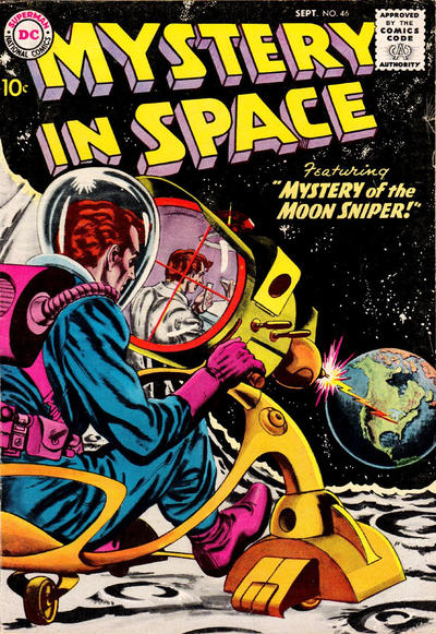 Cover for Mystery in Space (DC, 1951 series) #46
