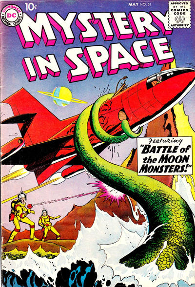 Cover for Mystery in Space (DC, 1951 series) #51
