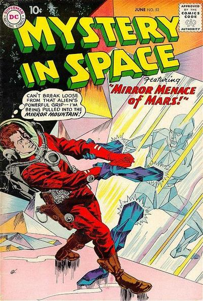Cover for Mystery in Space (DC, 1951 series) #52