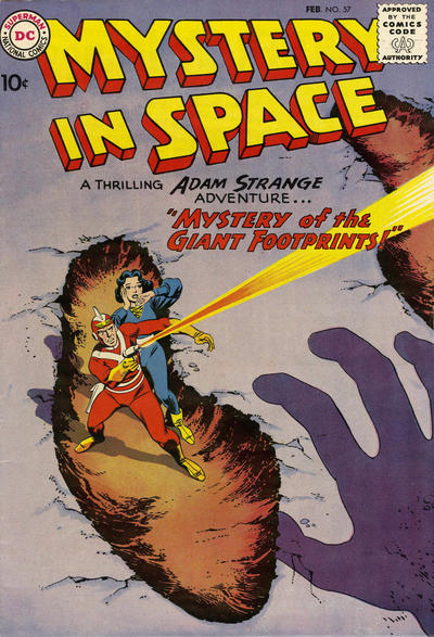 Cover for Mystery in Space (DC, 1951 series) #57