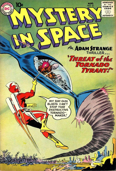 Cover for Mystery in Space (DC, 1951 series) #61