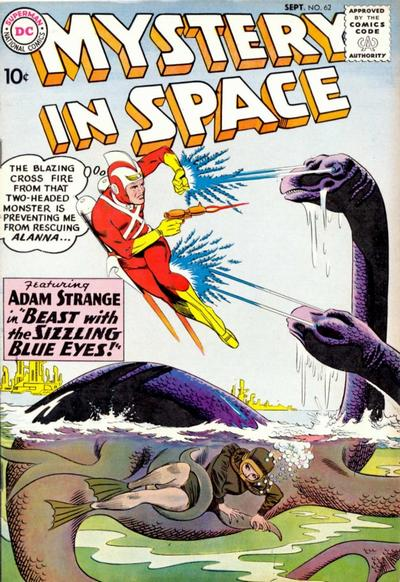 Cover for Mystery in Space (DC, 1951 series) #62