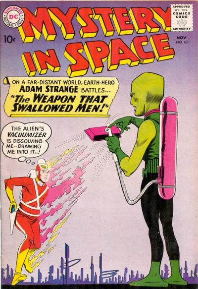 Cover for Mystery in Space (DC, 1951 series) #63