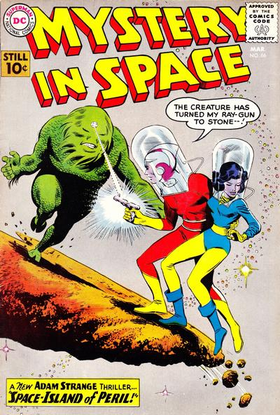Cover for Mystery in Space (DC, 1951 series) #66