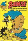Cover for Bamse (Semic, 1976 series) #7/1976