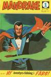 Cover for Mandrake (Semic, 1967 series) #1/1967