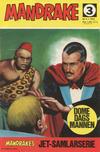 Cover for Mandrake (Semic, 1967 series) #3/1967