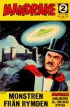 Cover for Mandrake (Semic, 1967 series) #2/1968