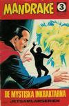 Cover for Mandrake (Semic, 1967 series) #3/1968