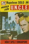 Cover for Mannen från U.N.C.L.E. (Semic, 1966 series) #6