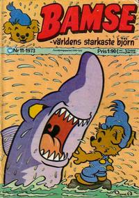 Cover Thumbnail for Bamse (Williams Förlags AB, 1973 series) #11/1973