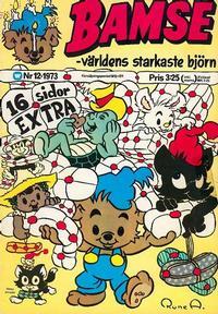 Cover Thumbnail for Bamse (Williams Förlags AB, 1973 series) #12/1973