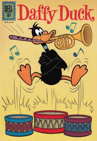 Cover Thumbnail for Daffy Duck (Dell, 1959 series) #29
