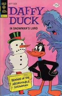 Cover Thumbnail for Daffy Duck (Western, 1962 series) #98 [Gold Key Variant]