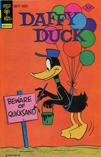 Cover Thumbnail for Daffy Duck (Western, 1962 series) #104 [Gold Key]