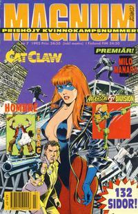 Cover Thumbnail for Magnum Comics (Atlantic Förlags AB, 1990 series) #7/1992