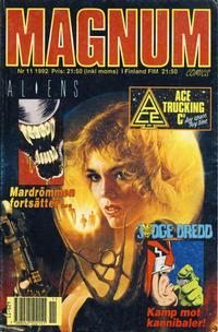 Cover Thumbnail for Magnum Comics (Atlantic Förlags AB, 1990 series) #11/1992