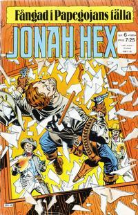 Cover Thumbnail for Jonah Hex (Semic, 1985 series) #6/1985