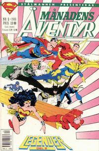 Cover Thumbnail for Månadens äventyr (Semic, 1985 series) #5/1988