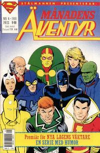Cover Thumbnail for Månadens äventyr (Semic, 1985 series) #6/1988