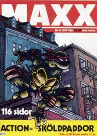 Cover Thumbnail for Maxx (Epix, 1986 series) #8/1987