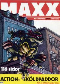 Cover Thumbnail for Maxx (Epix, 1986 series) #8/1987 (20)