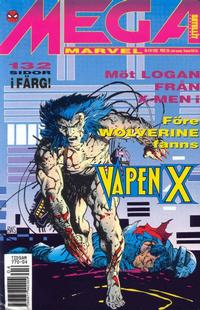 Cover Thumbnail for Mega Marvel (SatellitFörlaget, 1992 series) #4/1992 - Wolverine: Vapen X