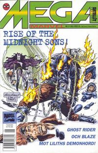 Cover Thumbnail for Mega Marvel (SatellitFörlaget, 1992 series) #6/1994 - Rise of the Midnight Sons!