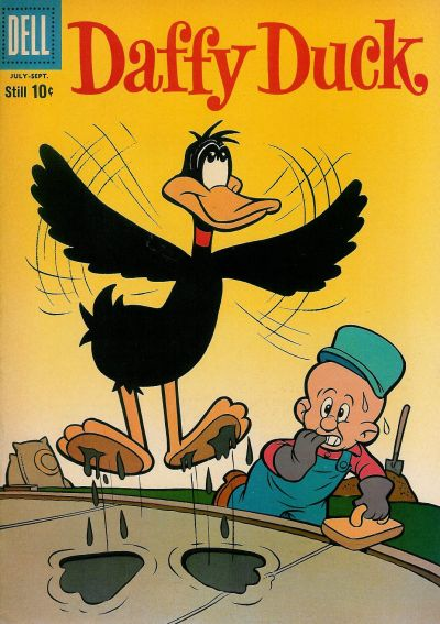 Cover for Daffy Duck (Dell, 1959 series) #18