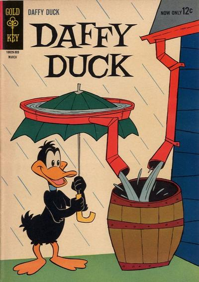 Cover for Daffy Duck (Western, 1962 series) #32