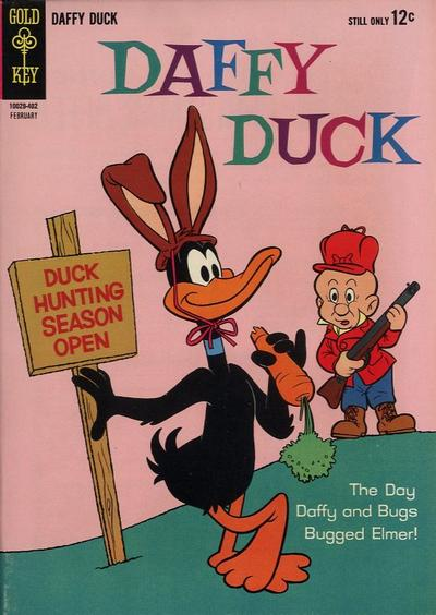 Cover for Daffy Duck (Western, 1962 series) #36